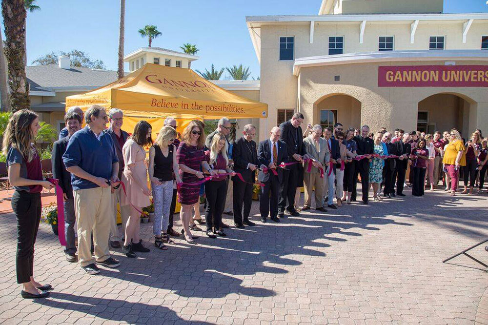 Dedication and Blessing Ceremony Ribbon Cutting