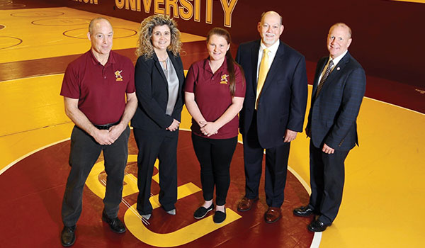 Women's Wrestling Coach and Administration